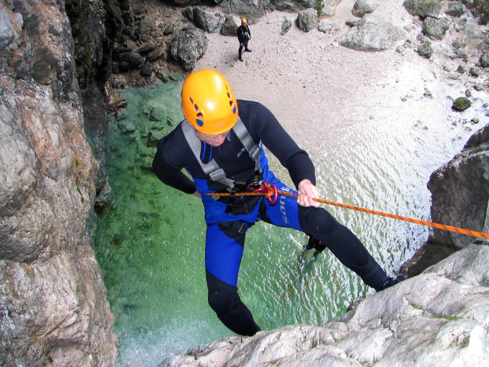 Soca canyoning