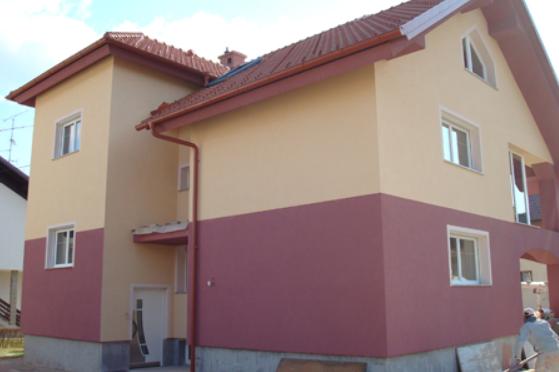 barvanje fasad